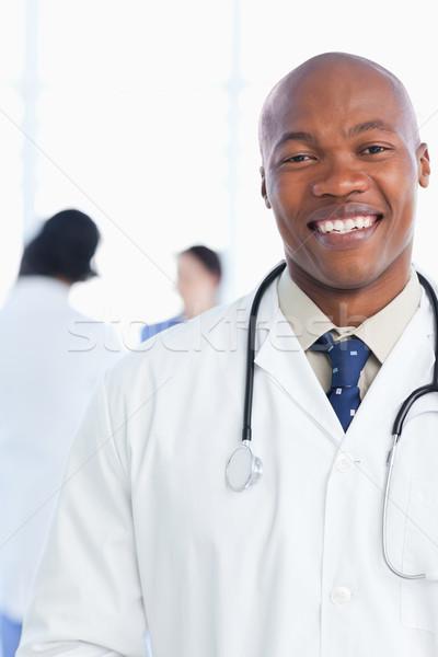 小さな インターン 笑顔 医療 チーム ストックフォト © wavebreak_media