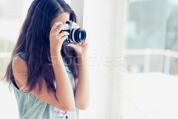 şık genç fotoğrafçı fotoğraf parlak Stok fotoğraf © wavebreak_media