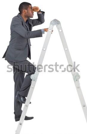 Wound up businessman with hands in pockets Stock photo © wavebreak_media