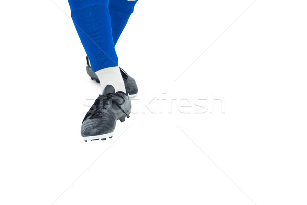 Blu calze bianco sport calcio Foto d'archivio © wavebreak_media