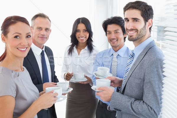 ビジネスチーム ドリンク オフィス 女性 食品 ストックフォト © wavebreak_media