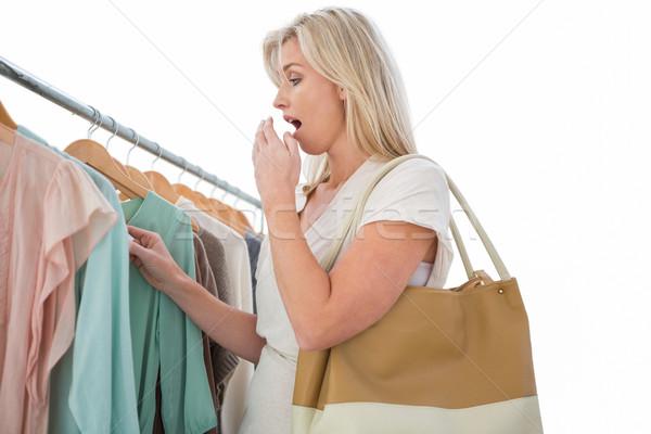 Dość cena kurtka biały Zdjęcia stock © wavebreak_media