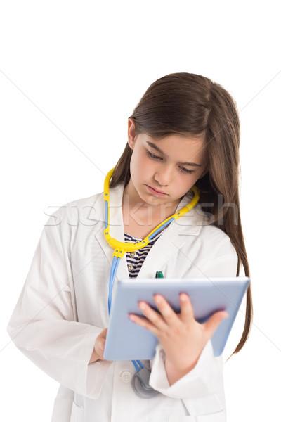 девочку врач белый медицинской ребенка женщины Сток-фото © wavebreak_media
