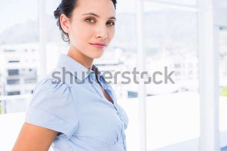Composite image of portrait of smiling female doctor Stock photo © wavebreak_media