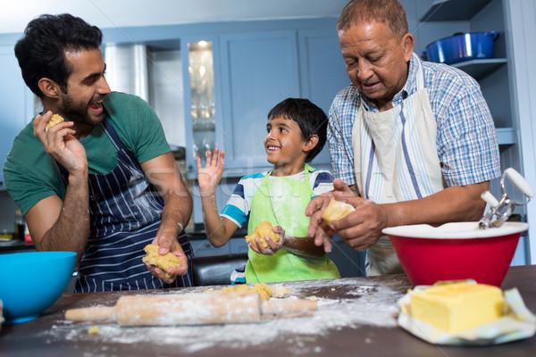 Familie keuken home Stockfoto © wavebreak_media