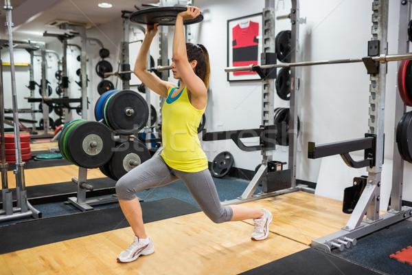 女性 重量 スポーツ フィットネス ストックフォト © wavebreak_media