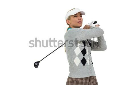 Shot bianco uomo golf Foto d'archivio © wavebreak_media