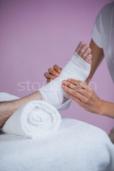 包帯 フィート 患者 クリニック 女性 ストックフォト © wavebreak_media