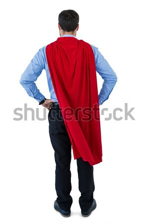 Businessman pretending to be a super hero Stock photo © wavebreak_media