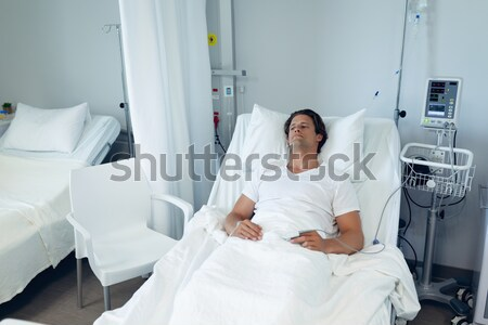 Paziente scansione test ospedale uomo medico Foto d'archivio © wavebreak_media