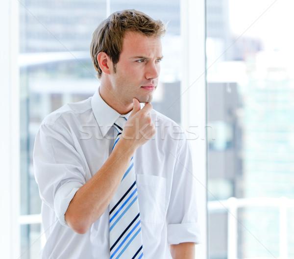 Portrait of a self-assured businessman standing  Stock photo © wavebreak_media