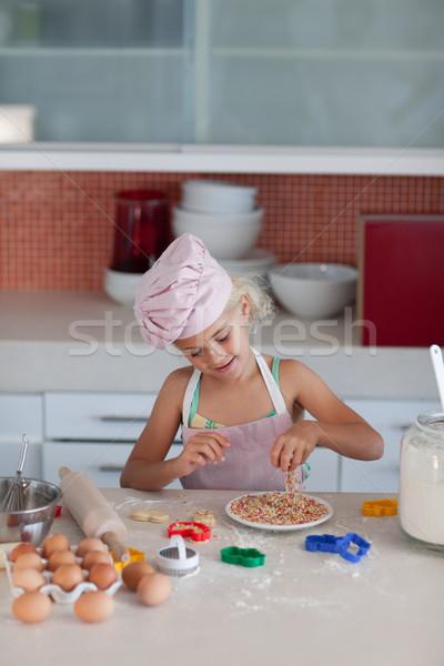 Jóvenes hija cocina familia alimentos Foto stock © wavebreak_media