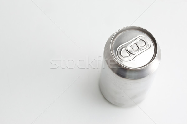 High angle view of a closed aluminium can against a white back ground Stock photo © wavebreak_media