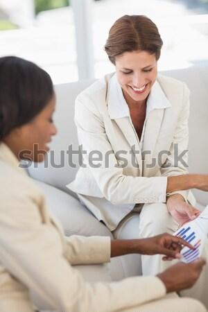 Nő manikűr manikűrös fiatal nő kezek szolgáltatás Stock fotó © wavebreak_media