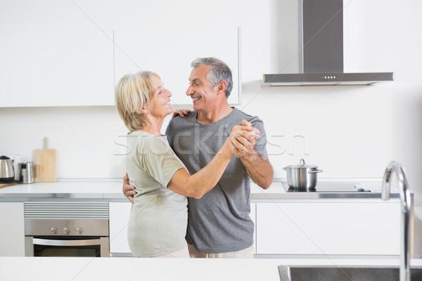 Couple dancing together Stock photo © wavebreak_media
