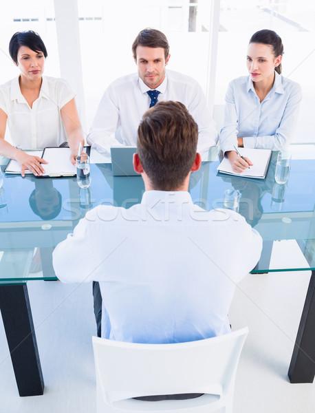 Aday ofis toplantı büro iş Stok fotoğraf © wavebreak_media