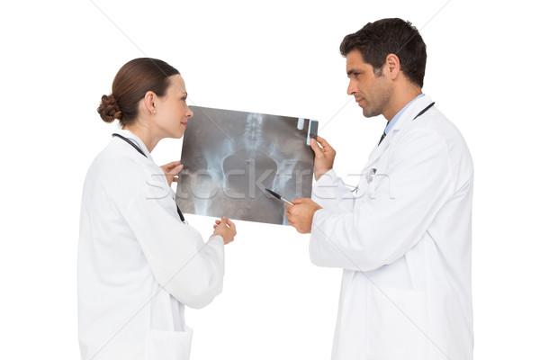 Due medici Xray insieme bianco uomo Foto d'archivio © wavebreak_media