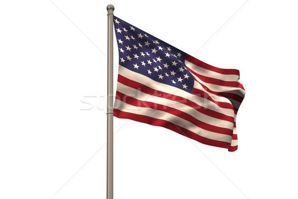 Digitally generated american national flag Stock photo © wavebreak_media
