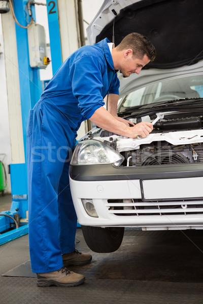 Mechaniker Auto Autoreparatur Garage Service Stock foto © wavebreak_media