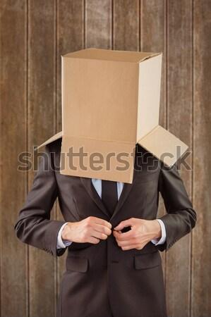 Anônimo empresário cinza mãos homem Foto stock © wavebreak_media