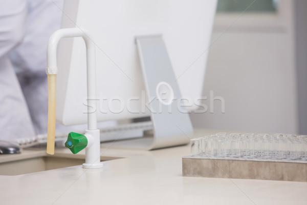 Wissenschaftler Labor Maus Technologie Bildschirm Stock foto © wavebreak_media