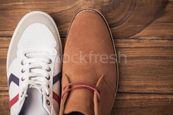 Casual and dressy mens shoes Stock photo © wavebreak_media