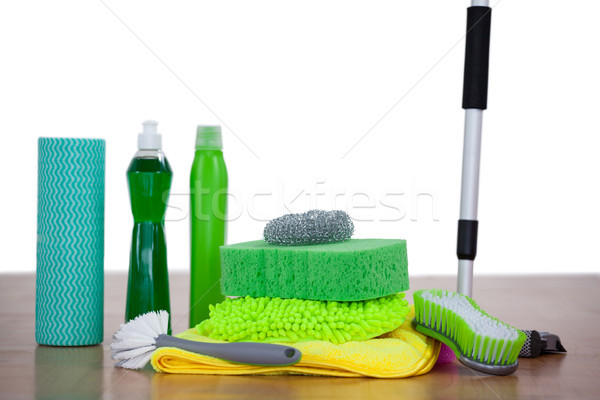 Limpeza equipamento parede casa Foto stock © wavebreak_media
