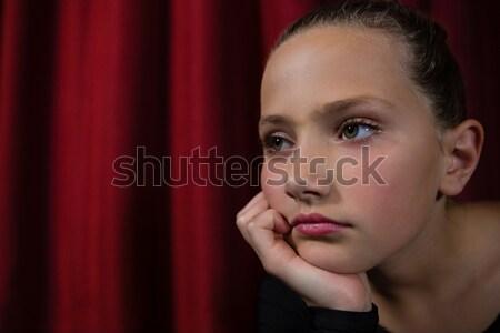 балерины сидят этап театра девушки Сток-фото © wavebreak_media