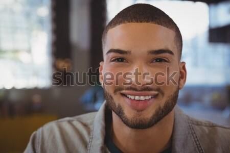 Portrait of smiling man Stock photo © wavebreak_media