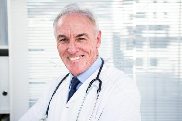 Portrait of happy doctor with stethoscope Stock photo © wavebreak_media