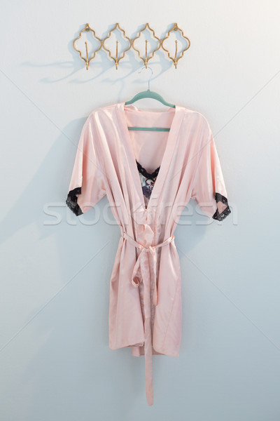 Nightwear hanging on hook Stock photo © wavebreak_media