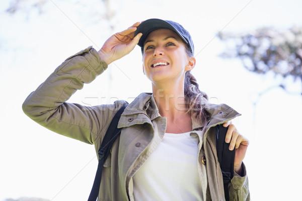 Woman observing something Stock photo © wavebreak_media
