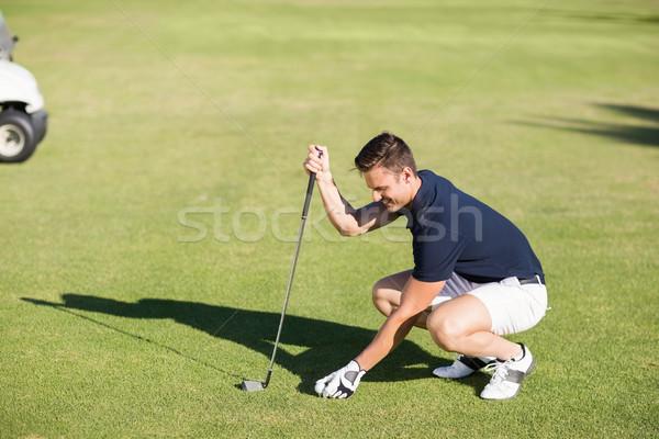 мнение человека мяч для гольфа области Сток-фото © wavebreak_media