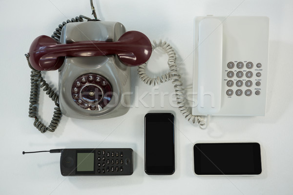 Old and modern technology concept Stock photo © wavebreak_media
