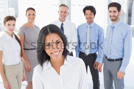харизматический азиатских деловая женщина заседание команда бизнеса Сток-фото © wavebreak_media