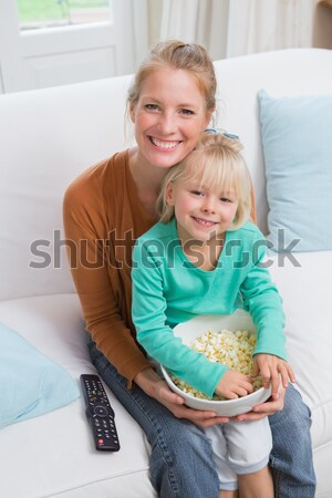 Cute little girl sitting on a wheelchair with her doctor Stock photo © wavebreak_media
