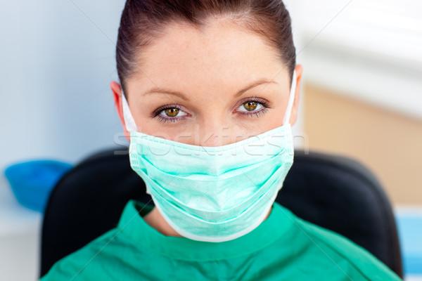 肖像 外科医 オフィス 見える カメラ 女性 ストックフォト © wavebreak_media