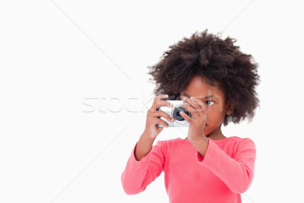 少女 画像 白 子 背景 ストックフォト © wavebreak_media