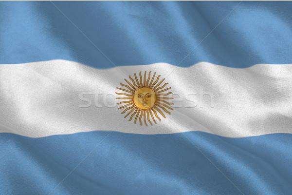 Argentinian flag Stock photo © wavebreak_media