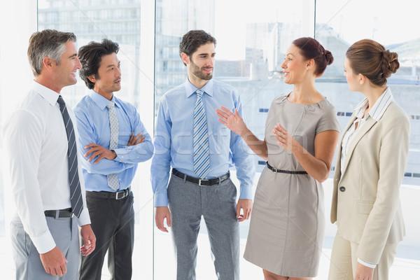 Incontro di lavoro sala conferenze uomo squadra femminile Foto d'archivio © wavebreak_media