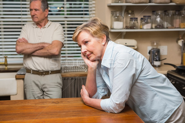 Senior couple having an argument Stock photo © wavebreak_media