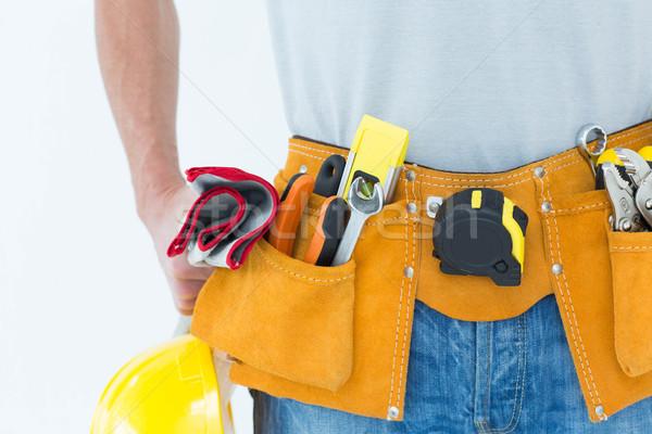 Technicus tool gordel rond taille afbeelding Stockfoto © wavebreak_media