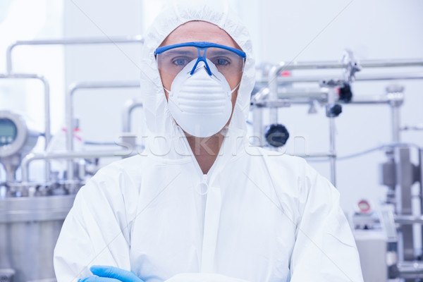 Portrait of a scientist standing with arms crossed Stock photo © wavebreak_media
