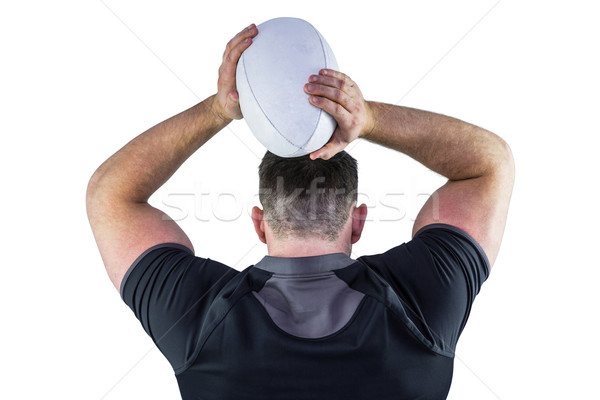 Difficile rugby giocatore palla bianco Foto d'archivio © wavebreak_media