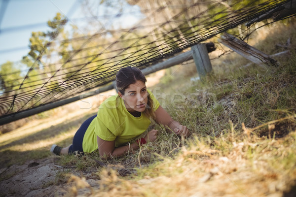 Determinado mulher com bota Foto stock © wavebreak_media
