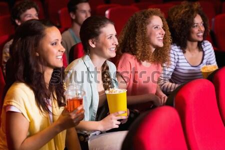 Grupo de personas viendo película teatro hombre película Foto stock © wavebreak_media