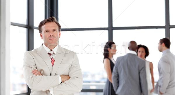 Séduisant Homme gestionnaire équipe bureau Photo stock © wavebreak_media