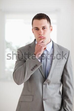 Young businessman considering Stock photo © wavebreak_media