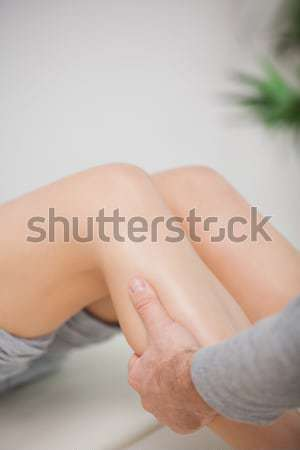 Massagista quarto mão médico Foto stock © wavebreak_media