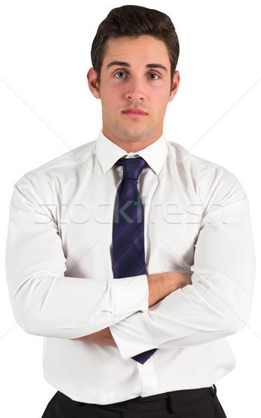 Businessman standing and looking at camera Stock photo © wavebreak_media